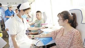荣昌区人民医院医护人员无偿献血1.8万毫升